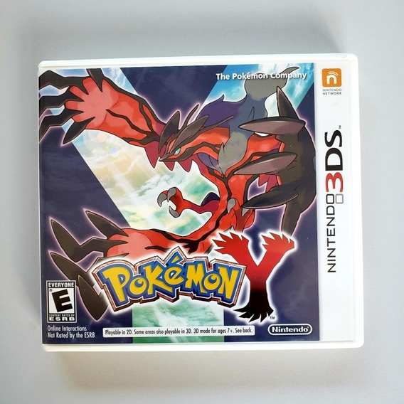 Pokemon Y Original Nintendo 3ds 2ds