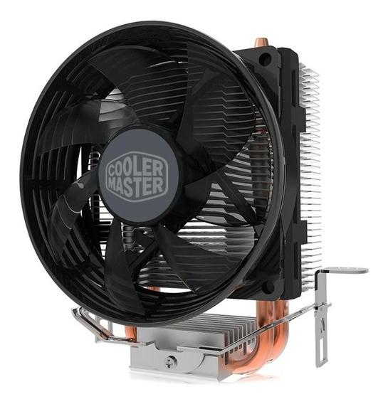 Cooler Hyper T20 Com 2 Heat Pipes De Cobre P/ Cpu Intel Lga 775 1150 1151 1155 1156 E Amd Ryzen Am4 Am3 Am2 Fm2 Fm1