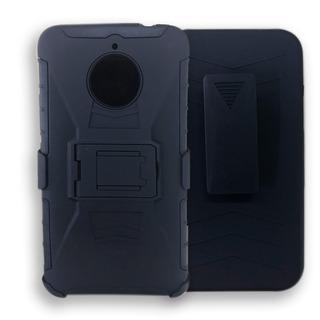 Funda Uso Rudo Protector Motorola Moto Z2 Play + Mica Gratis