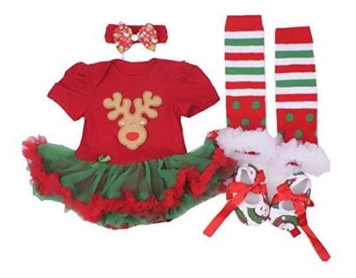 Winmi® Bebé Recién Nacido 1r Navidad Onesie Traje Trajes