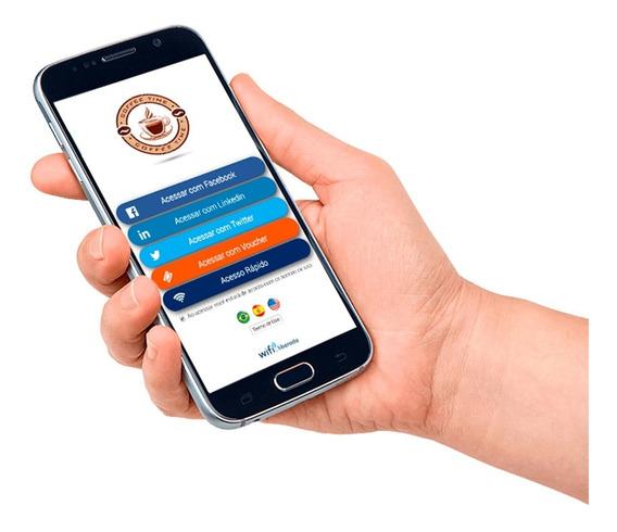 Servidor Hotspot Wifi Liberado Login Facebook 200 Usuarios