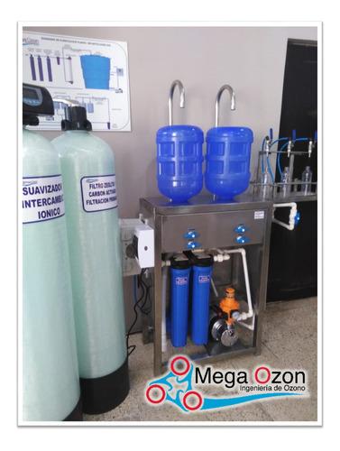 Imagen 1 de 5 de Purificadora De 200 Botellones Dia Con Osmosis Inversa
