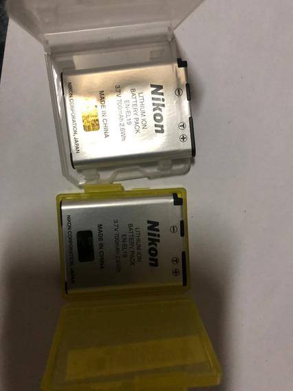 Bateria En-el19 Nikon S3300 S3500 S4300 S5200 S6400 S6500