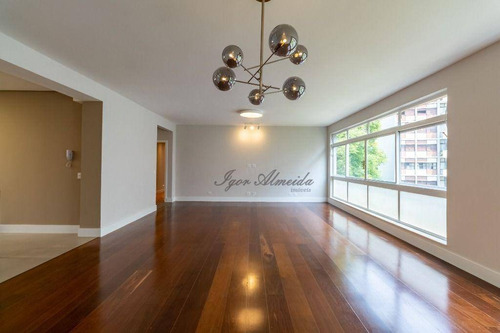 Apartamento Com 3 Dormitórios À Venda, 222 M² Por R$ 1.880.000,00 - Santa Cecília - São Paulo/sp - Ap47654