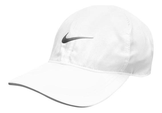 Bone Nike Aba Curva Featherlight Run Original Strapback Dri