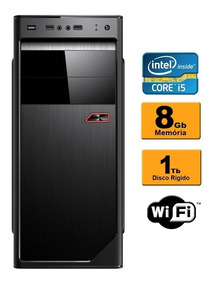Computador Intel Core I5 3.1 Ghz 8gb Ddr3 1tb Gravador Wifi