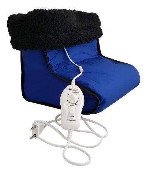 Bota Pantufa Térmica Elétrica Luxo 10 Temperaturas Sul Term