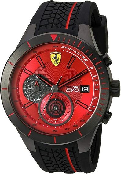 Reloj Ferrari 46mm Negro Mod. 830343. Ultimas Piezas!!