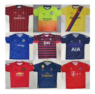 Camisas De Time Futebol Europeu E Brasileiros Raynstore®