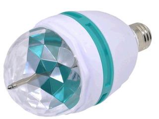 Paquete 50 Focos Led Colores Giratorio Rgb Fiestas Disco