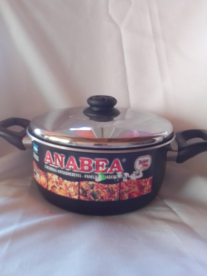 Cacerola Teflon Anabea N 26