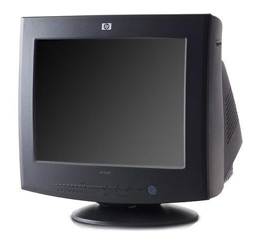 Monitores Crt 15 Pulgadas Negros, Gtia, Caballito/pque Chac