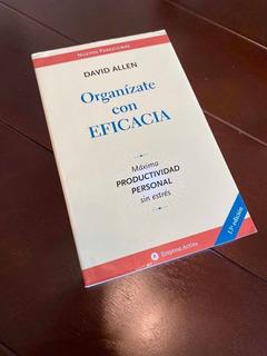 Libro Organízate Con Eficacia (getting Things Done) D. Allen