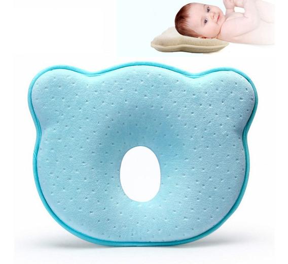 Cojín P/bebé Recién Nacido Previene Síndrome De Cabeza Plana