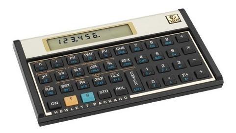 Calculadora Hp 12c Gold,semi-nova,frete-grátis