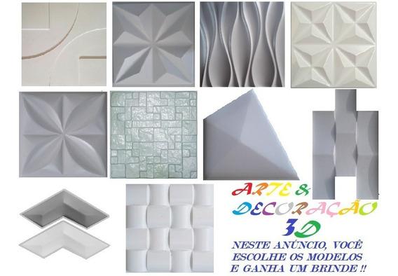 10 Formas De Abs Para Cimentício E Gesso 3d + 1 Brinde; Cr