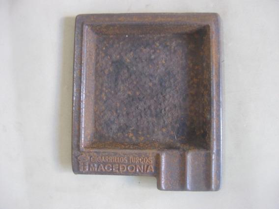 Cenicero De Metal, Publicidad Cigarrillos Turcos Macedonia