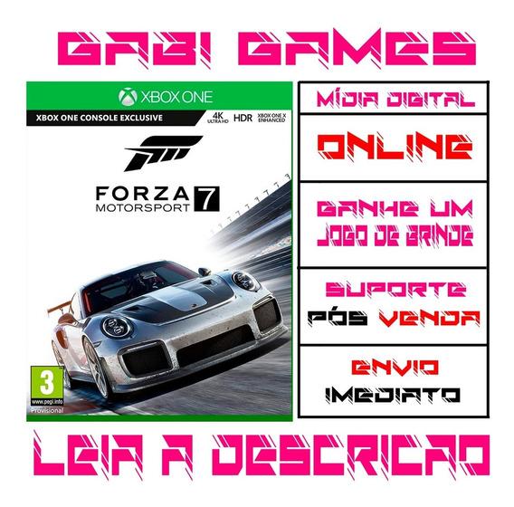 Forza Motorsport 7 - Xbox One Midia Digital Online + Brinde