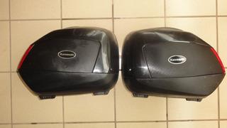 Bagageiros Laterais Kawasaki Versys 2012 - Original Usado