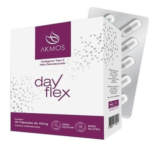 4 Day Flex Akmos - Colágeno Tipo I I - 12x Sem Juros