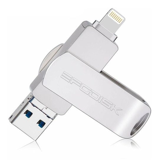 Pendrive 64gb iPhone 5 A Xs iPad Samsung Todos Android Usb30