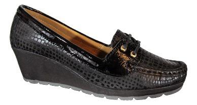 Rosina 932 Zapato Acordonado Taco Chino Mujer
