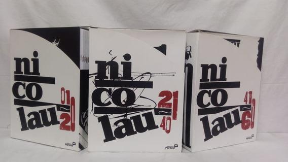 3 Boxes Do Jornal Nicolau, Números 01 Ao 60.