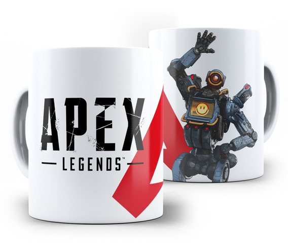 Caneca Apex Legends Pathfinder E Todas As Lendas
