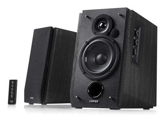 Monitor De Áudio Bluetooth R1700bt Preta Edifier 2.0 - 66w