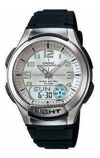Reloj Casio Tele Memo Aq-180w-7b Originales Local Belgrano