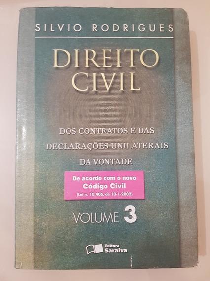 Livro Direito Civil: Parte Geral Vol 3 Silvio Rodrigues