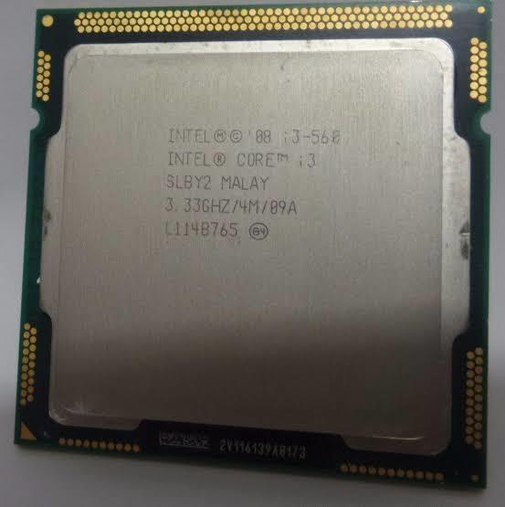 Processador Intel Core I3 560 Lga 1156 1° Geração