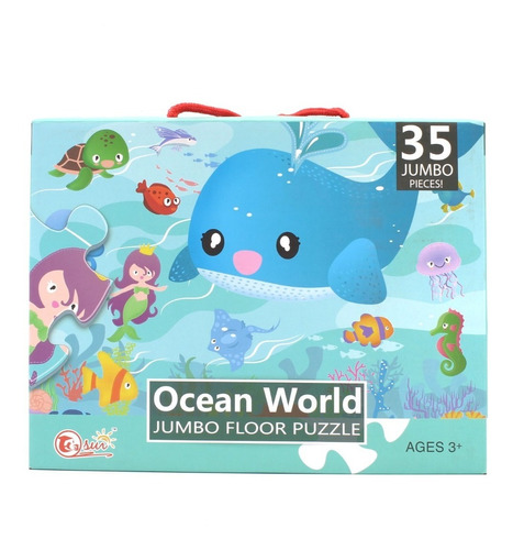 Mega Puzzle 35 Pcs - Ocean World