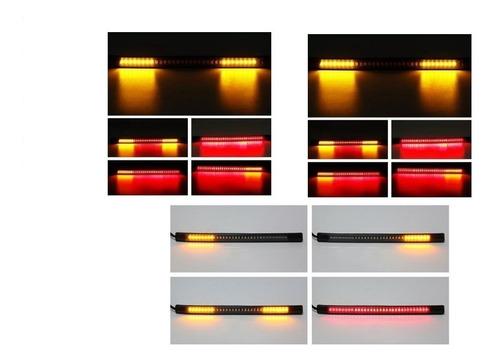 Luz Stop Con Direccionales Integradas Cinta Led Flex Motos