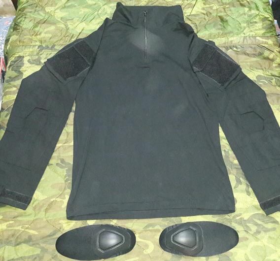 Remera Bajo Chaleco G2color Negro Talle S Y M .l Disponible