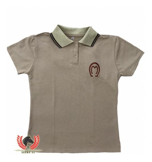 Camisa Mangalarga Marchador Preta Feminina