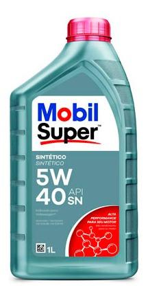 Aceite De Motor Mobil 1 Litros 5w40 Sintetico Mobil Super