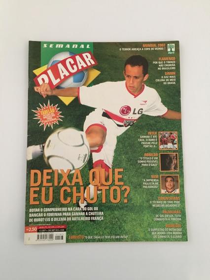 Placar Nº 1197 - 18 Setembro 2001 Inter São Paulo