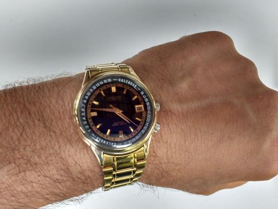 Relógio Orient Automático Raro Calendar Serie Especial