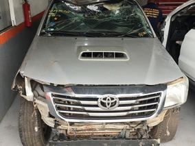 Sucata Peças Toyota Hilux 3.0 4x4 Diesel 2013 Automática