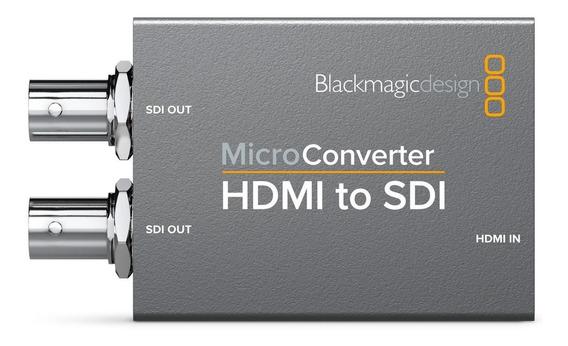 Micro Conversor Blackmagic Hdmi P/ Sdi +fonte Pronta Entrega