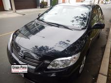 Toyota Corolla 2010 Negro Mecanico Nunca Taxiado Ni Chocado