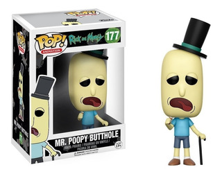 Funko Pop Rick And Morty Mr. Poopy Butthole 177