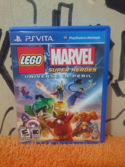 Lego Marvel Super Heroes Universe In Peril Ps Vita Frte R$10