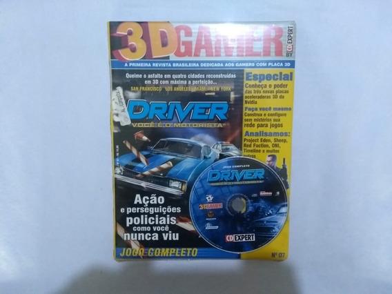 Driver 3d Gamer Nº 7 Cd Expert - Pc Lacrado