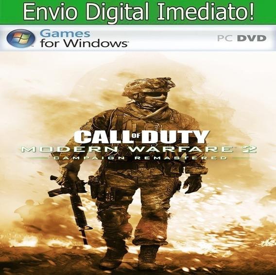 Cal Of Duty Modern Warfire 2 Remasted Pc Hd Envio Imediato.