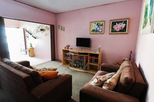 Casa Com 3 Dormitórios, Edícula Com Cozinha E Quarto  À Venda,  130 M² Por R$ 810.000 - Chácara Santo Antônio (zona Leste) - São Paulo/sp - Ca1142