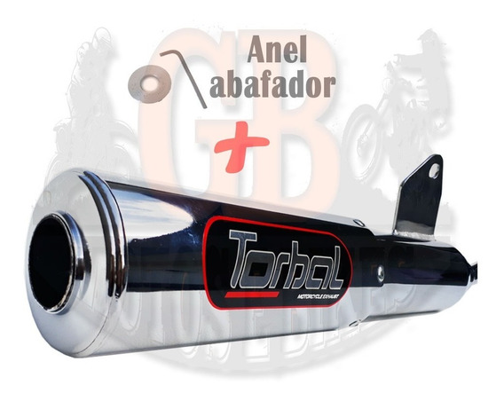 Escape Esportivo Torbal Dafra Speed 150 2007 2008 + Abafador