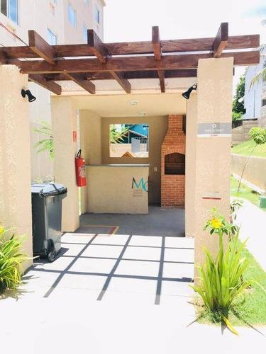 Apartamento Com 2 Dormitórios Para Alugar, 40 M² Por R$ 900,00/mês - Campo Grande - Rio De Janeiro/rj - Ap0326