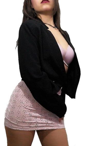 Mini Falda Beige Hermosa Gamuza Ajustable + Regalo Sorpresa